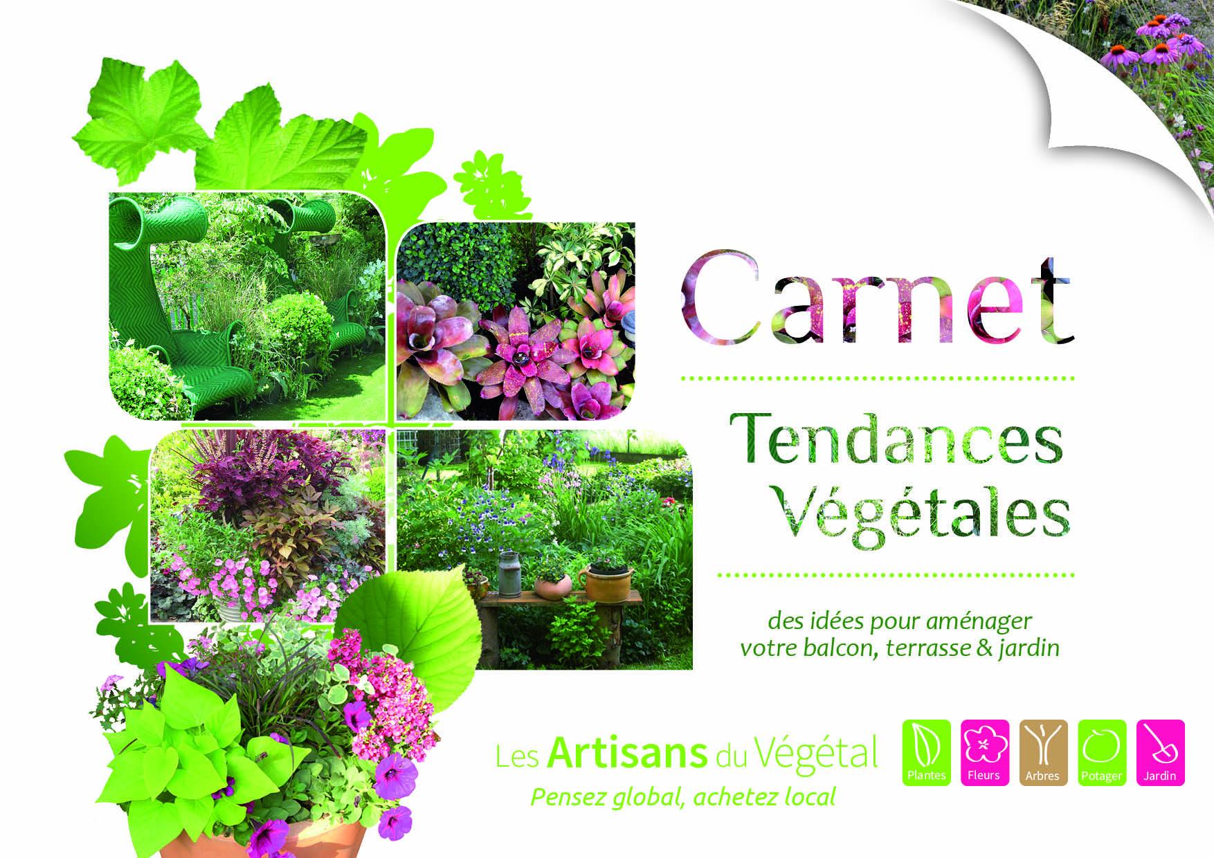 Découvrez le Carnet de Tendances Végétales